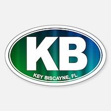 Key Biscayne - Sticker (Oval)