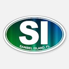 Sanibel Island, FL - Sticker (Oval)