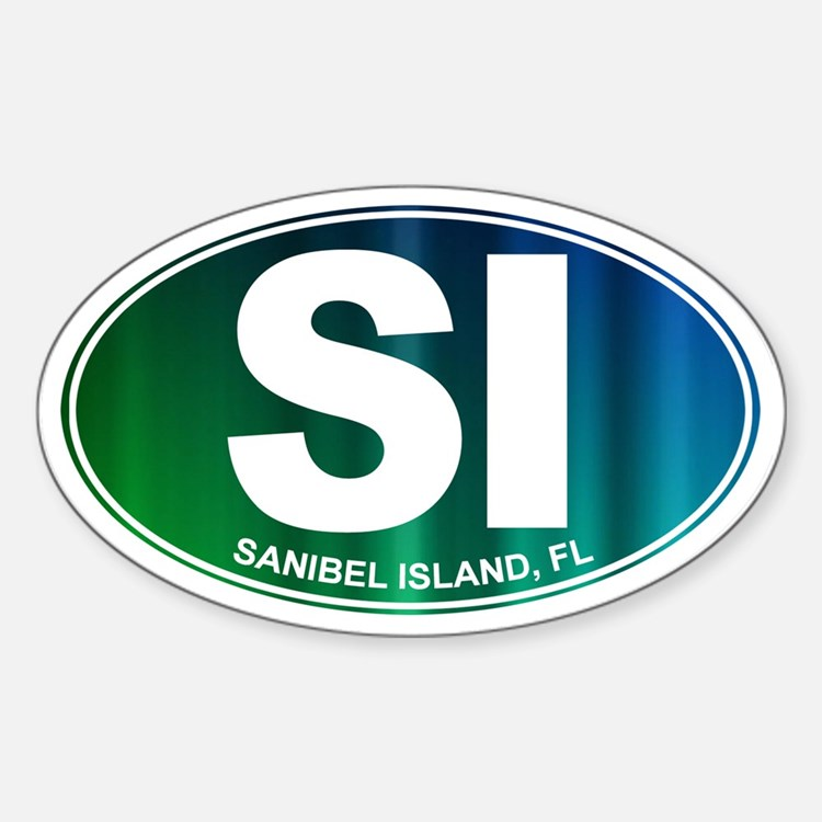 Sanibel Island, FL - Sticker (Oval)