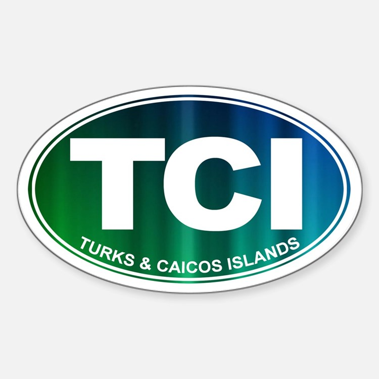 Turks and Caicos Islands - Decal