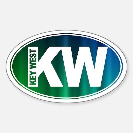 Key West, FL - Sticker (Oval)