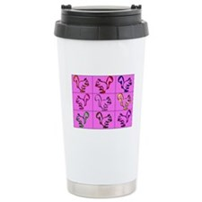 A Little Squirrely Pink Travel Mug
