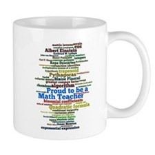 Math Teacher's Mug