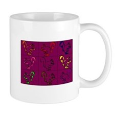 A Little Squirrely Purple Mug