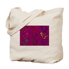 A Little Squirrely Purple Tote Bag