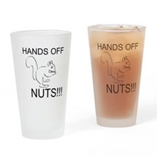 Hands off! Drinking Glass
