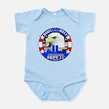9-11 Sept 11 10th Anniversary Infant Bodysuit