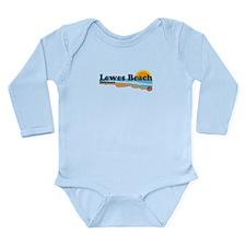 Lewes Beach DE - Beach Design. Long Sleeve Infant