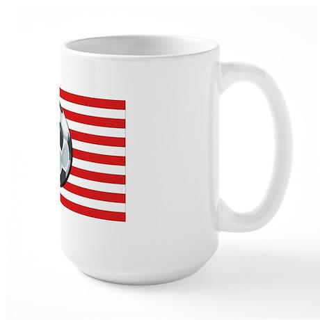 American Soccer Large Mug