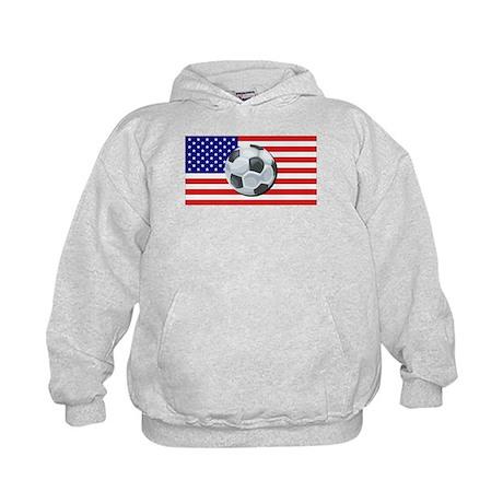 American Soccer Kids Hoodie