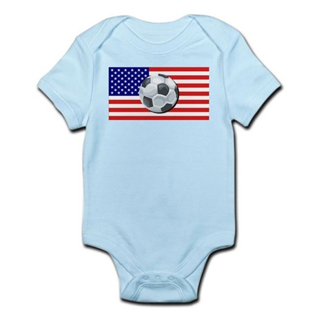 American Soccer Infant Creeper