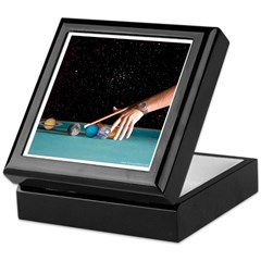 Planetary Pool Keepsake Box