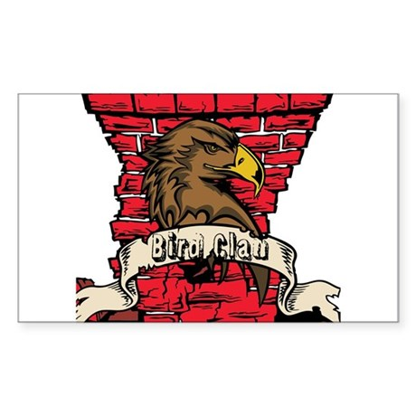 Bird Clan Sticker (Rectangle)