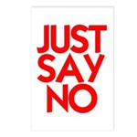 JUST SAY NO™ Postcards (Package of 8)