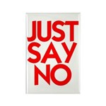 JUST SAY NO™ Rectangle Magnet (100 pack)