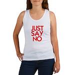 JUST SAY NO™ Women's Tank Top