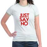 JUST SAY NO™ Jr. Ringer T-Shirt
