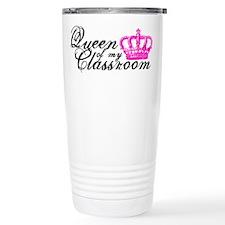 Queen of my Classroom Travel Mug