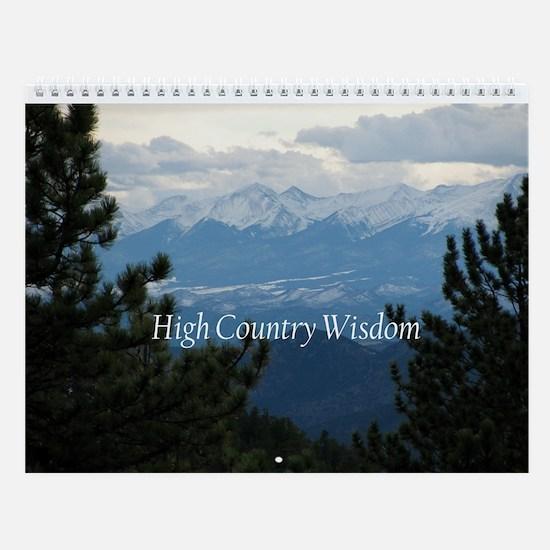 High Country Wisdom Wall Calendar