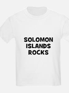 SOLOMON ISLANDS ROCKS Kids T-Shirt