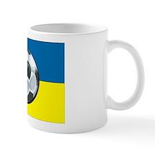 Ukraine Soccer Mug