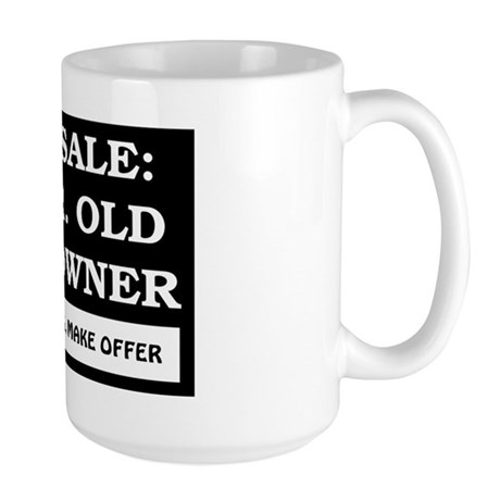 For Sale 59 Year Old Birthday Large Mug