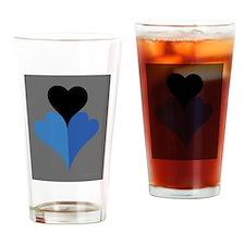 blue nasty fantasy Drinking Glass