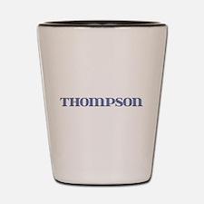 Thompson Blue Glass Shot Glass