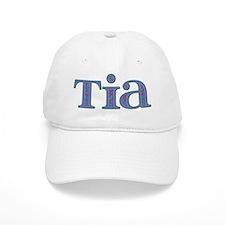 Tia Blue Glass Baseball Cap