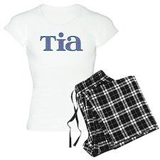 Tia Blue Glass Pajamas