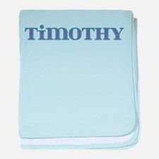 Timothy Blue Glass baby blanket