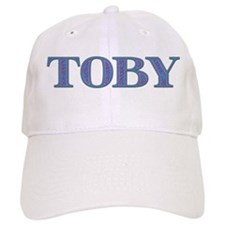 Toby Blue Glass Baseball Cap