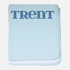 Trent Blue Glass baby blanket