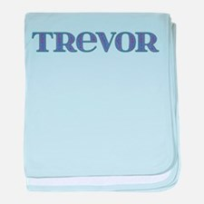 Trevor Blue Glass baby blanket