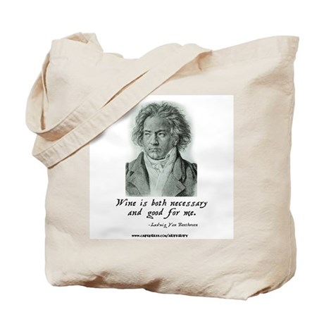 Wine is necessary... Tote Bag