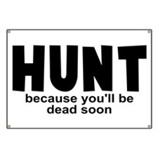 Hunt Before Death Banner