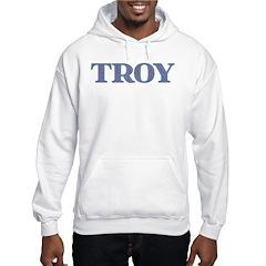 Troy Blue Glass Hoodie