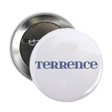Terrence Blue Glass Button