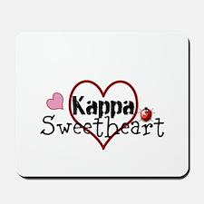 Kappa Sweetheart Mousepad