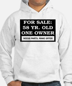For Sale 58 Year Old Birthday Hoodie
