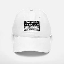 For Sale 58 Year Old Birthday Baseball Baseball Cap