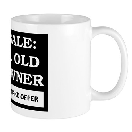 For Sale 58 Year Old Birthday Mug