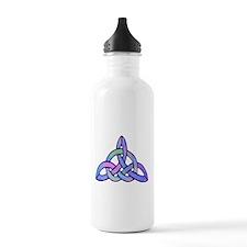 Triquetra blue Water Bottle