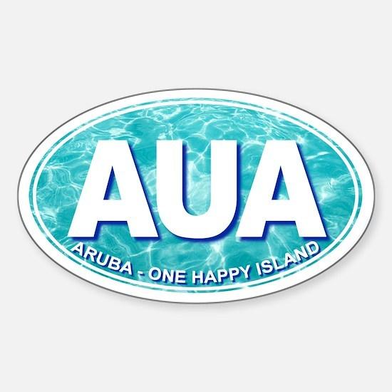 ARUBA - Sticker (Oval)