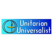 unitarian... Bumper Bumper Sticker