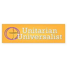 unitarian... Bumper Car Sticker