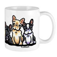 Four Frenchies Mug