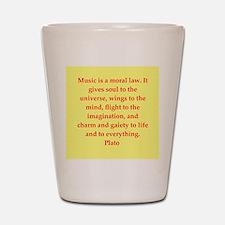 Wisdom of Plato Shot Glass