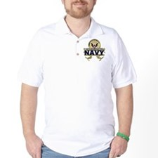US Navy Gold Anchors T-Shirt