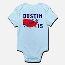 Dustin Nation 15 Infant Bodysuit